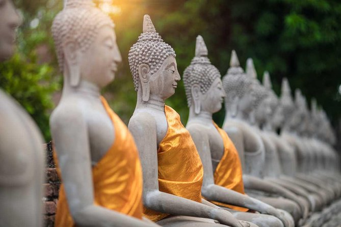 Ayutthaya Ancient Temples Tour from Bangkok (Multi Languages)