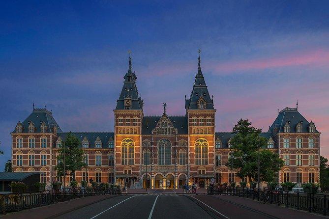 Evite as filas: excursão pelo Museu Van Gogh e Rijksmuseum, incluindo cruzeiro com almoço nos canais de Amsterdã