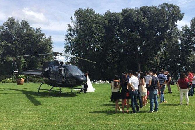 Helicopter Exclusieve VIP wijntour in Toscane - Fly To Wine in vogelvlucht