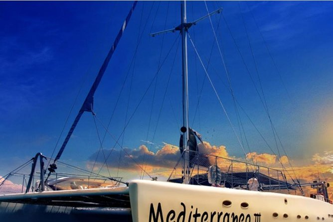 Mediterraneo Catamaran adults only Sunset Cruise from Ayia Napa