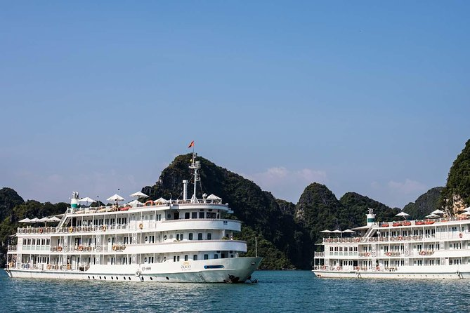 3 Days,2Nights Halong Bay & Gulf of Tonkin 5 Star Cruise