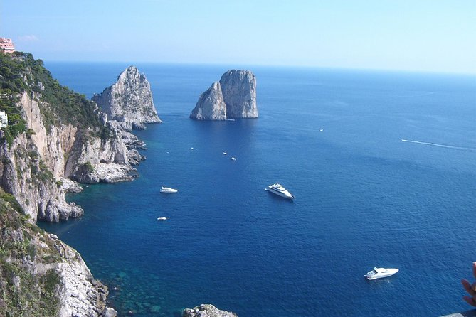 Capri & Anacapri - Daily Tour with Lunch and Guide from Naples