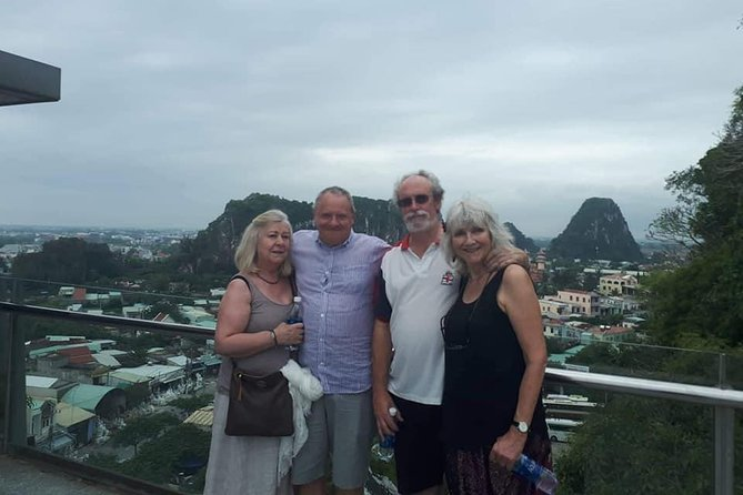 Fullday to Marble Mountain & Hoi An Walking Tour from CHAN MAY or TIEN SA Port