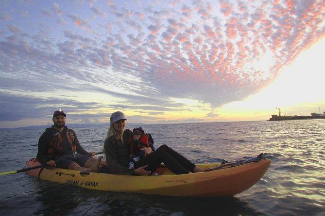 Santa Barbara Sunset and Moonrise Kayaking Tour