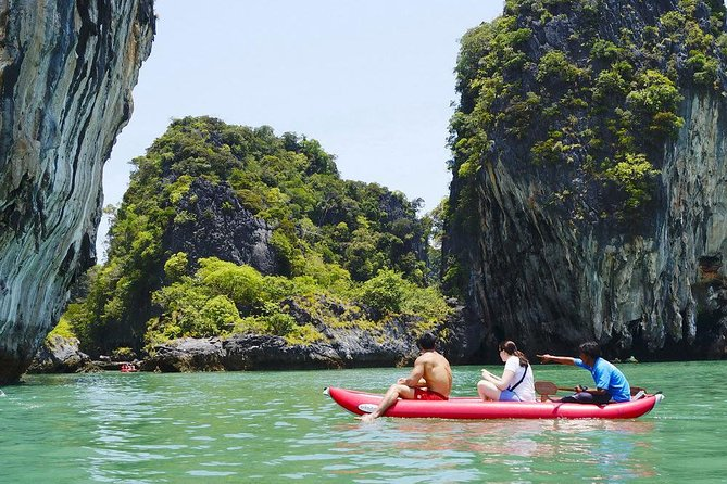 Phang Nga Bay Canoe & Speedboat Tour with Lunch