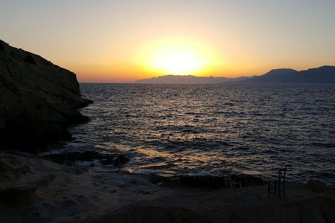 South Crete - The gorge of the Eremits, Sunset in Matala photo 11