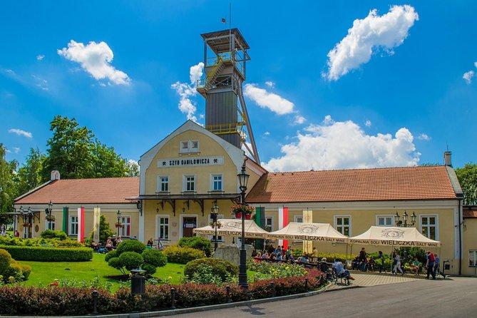 Entrance to Wieliczka Salt Mine