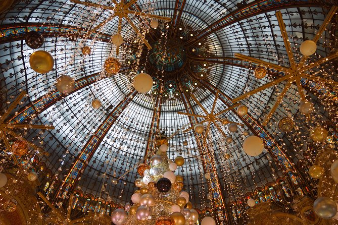 Paris at Christmas with Festive Shopping Past & Present