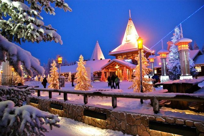 City Sightseeing and Santa Village Guided Tour, Small group
