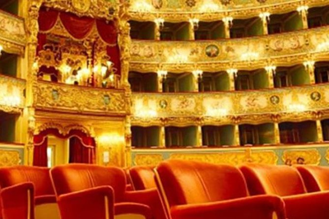 Fenice Theatre Admission Ticket and Audioguided Tour