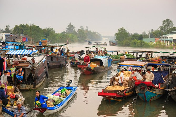 Full-Day Mekong Delta Floating Market Tour at Cai Be