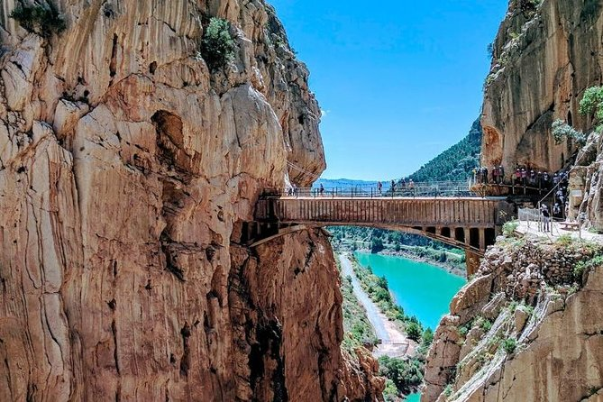 Guided Tour Caminito del Rey from Benalmádena