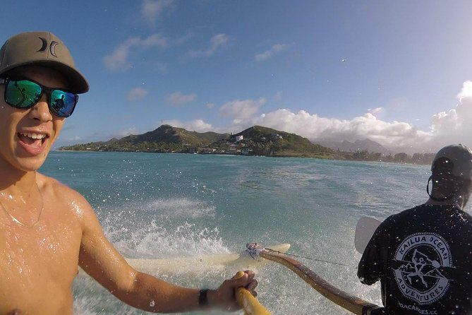 Hawaiian Canoe Surfing and Island Adventure