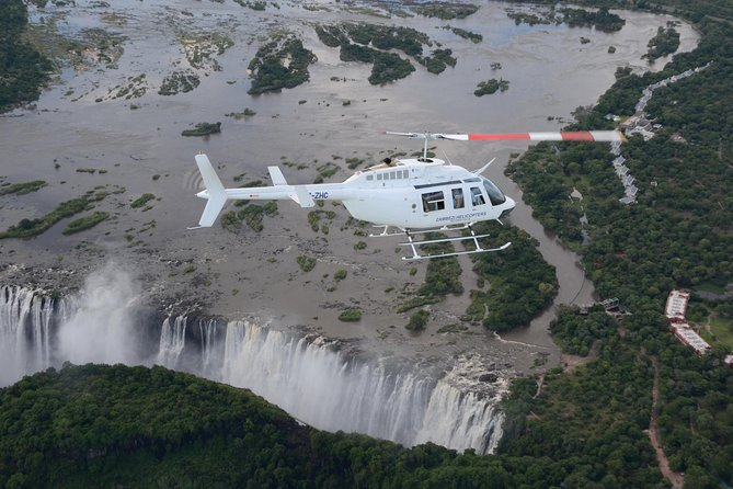 Helicopter Flight 12/13 Minute (Zimbabwe)