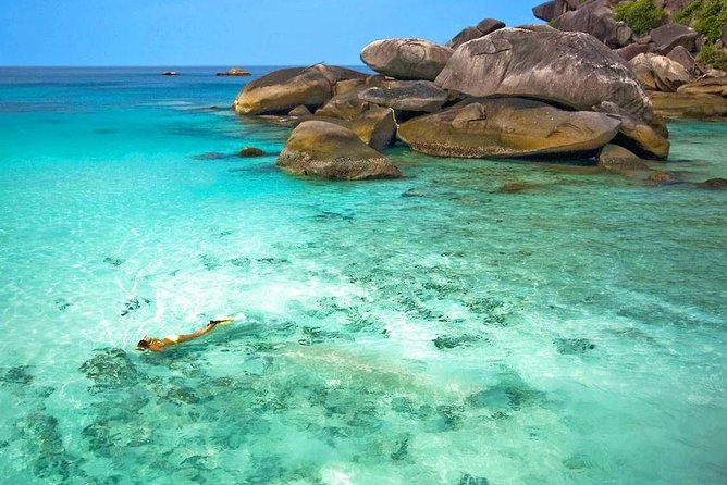 Similan Islands Snorkel Tour by Fantastic Similan Travel from Krabi