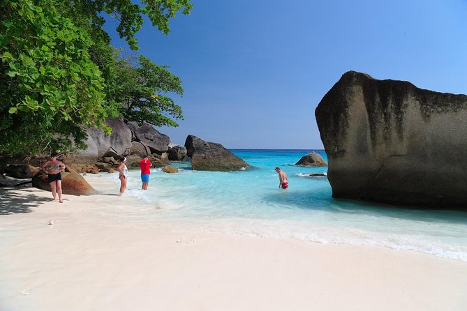 Early Bird Similan Islands Snorkel Tour by Siam Adventure World from Khao Lak