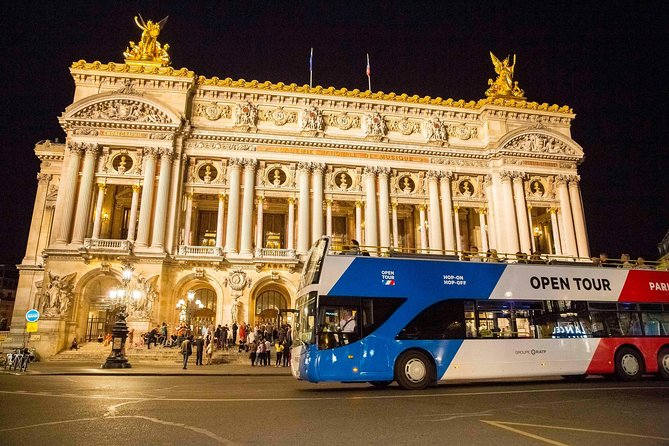 Open Tour Paris Night Tour