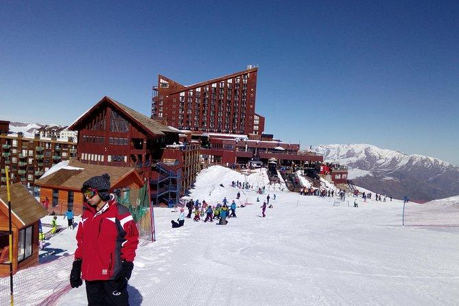fullday private tour valle nevado and farellones ski resorts