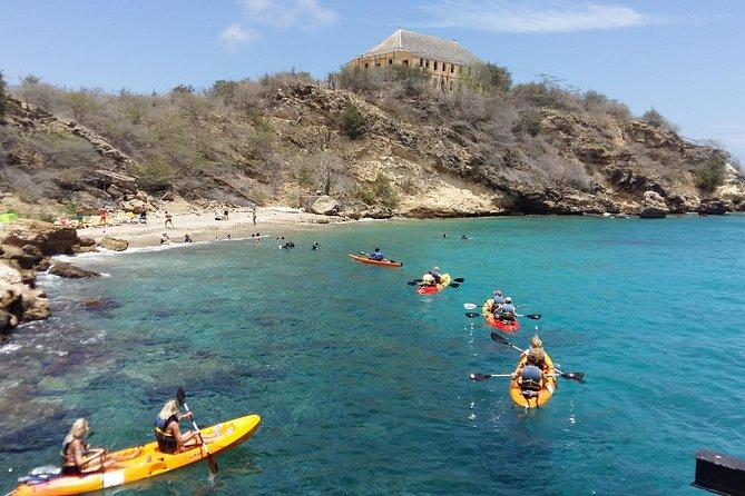 Caiaque de Curaçao e Snorkel Adventure