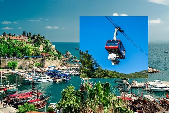 Antalya Old Town, Waterfall and Cable Car trip from Side