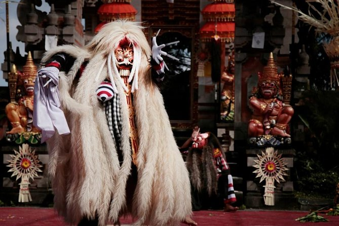 Barong Dance Show Bali Admission Ticket