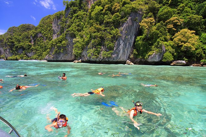 Phi Phi Island Tour by Speedboat from Krabi with Lunch