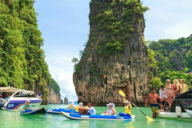 James Bond Island Adventure Day Trip from Phuket with Sea Canoeing & Lunch