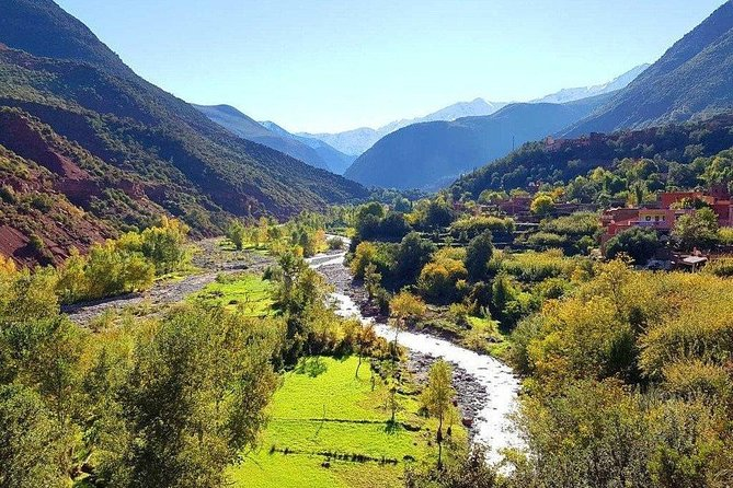 Shared Day trip to Ourika Valley from Marrakech