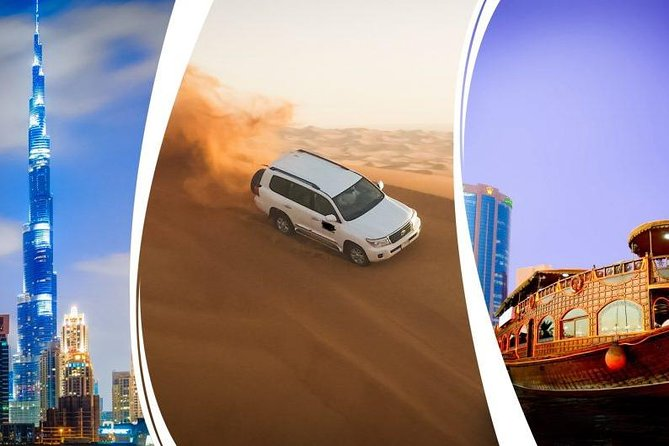 Red Dunes Desert Safari , Dubai City tour , Creek Cruise & Abu Dhabi city tour photo 1