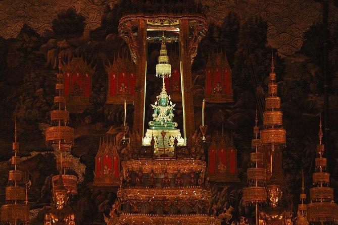 Billet d'entrée au bouddha émeraude du temple de Bangkok avec transfert à l'hôtel