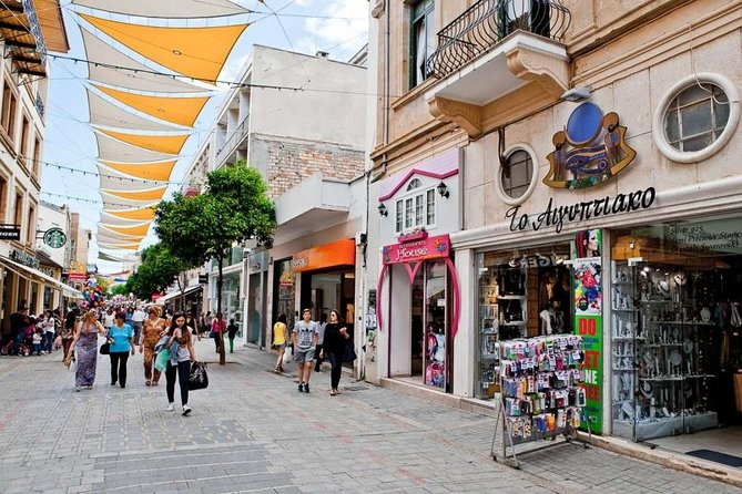 Nicosia the last divided Capital in Europe from Paphos in German