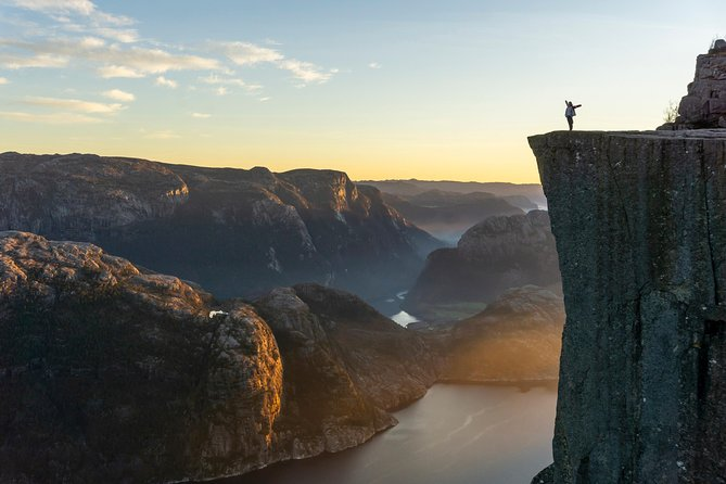 Preikestolen Sunset Hike & Fjord Cruise