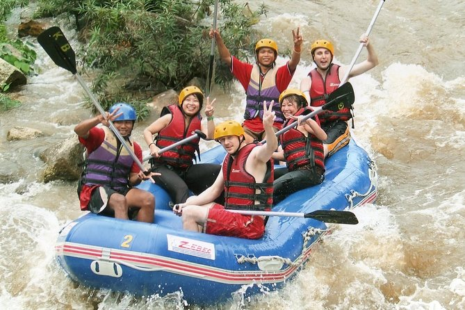 Whitewater Rafting & ATV Adventure Tour from Phuket with Lunch