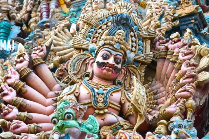 Tour to Madurai Meenakshi Amman Temple, Thirumalai Nayakar Mahal & Gandhi Museum
