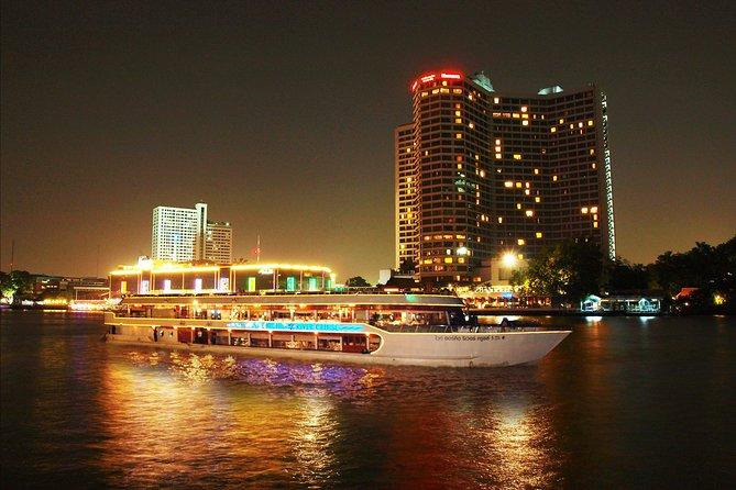 Bangkok Arrival Transfer with Bangkok River by Night Dinner Cruise