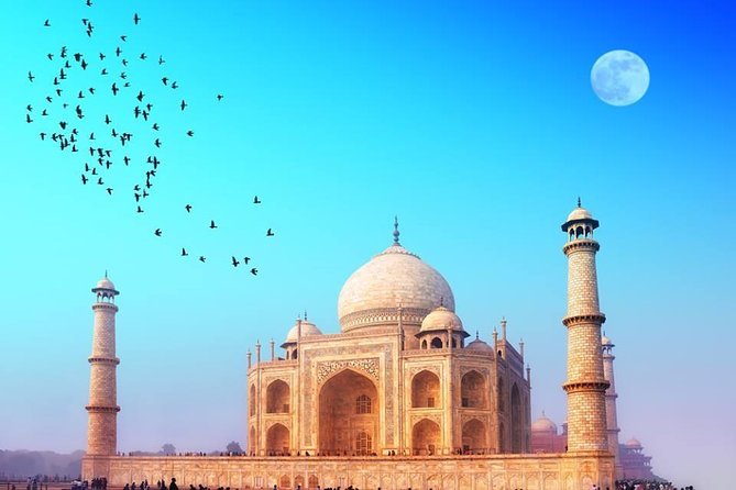 Taj Mahal Same Day Guided Tour