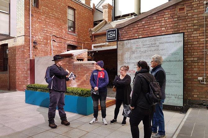 Melbourne Historical Walking Tour: Crime, Gangsters & Lolly Shops
