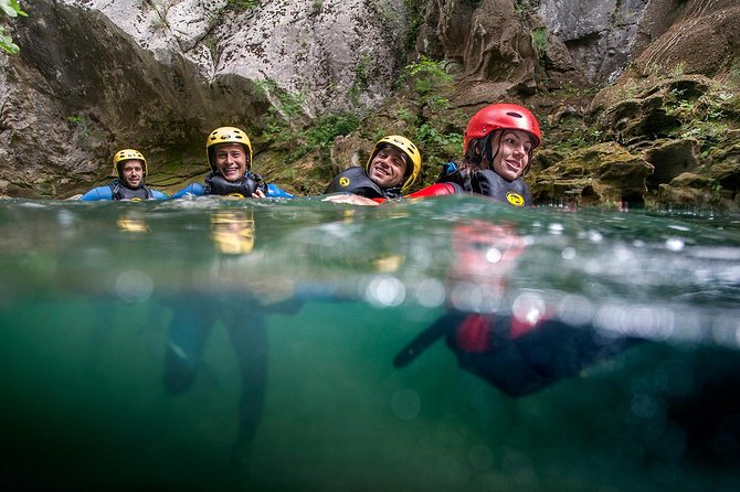 Canyoning on Cetina River Adventure from Split or Zadvarje