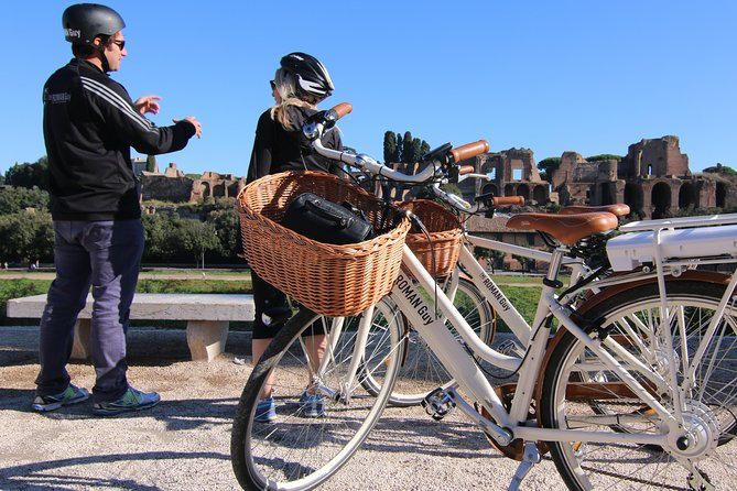 Small Group Half-Day Rome Tour with Electric Bikes