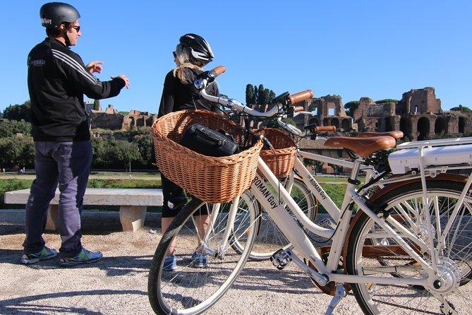 Halbtägige Rome Tour in kleiner Gruppe mit Elektrofahrrädern