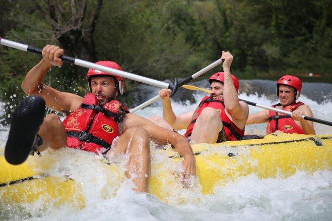 Rapids grade II and III on Cetina river