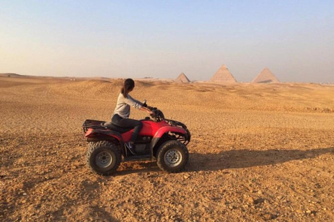 1 Hour ATV at Giza Pyramids from Cairo
