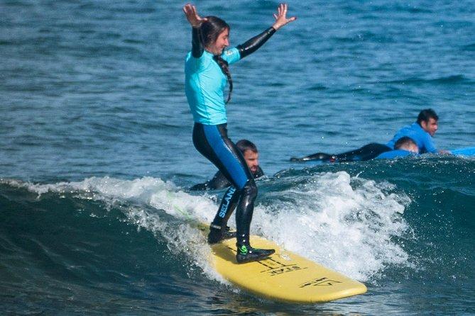 Surf Lesson at Playa de las Américas