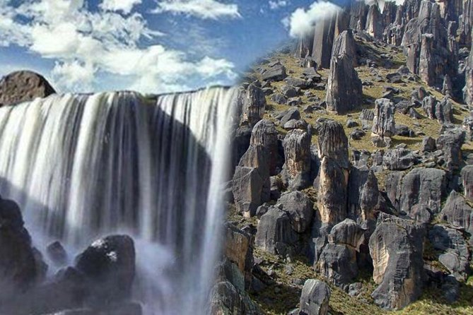 Pillones Waterfall and Stone Forest of Imata (exclusive)