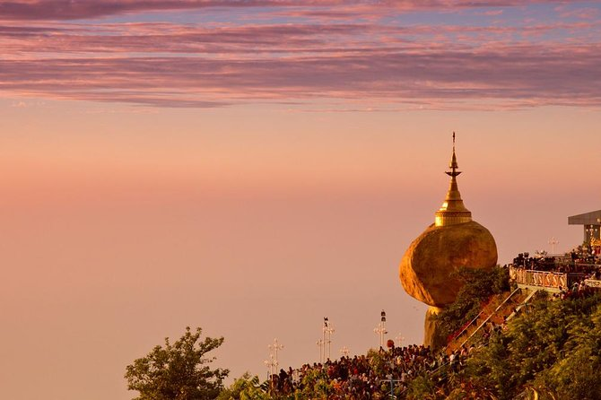Private 4 Days Trip to Golden Rock Pagoda and Bagan