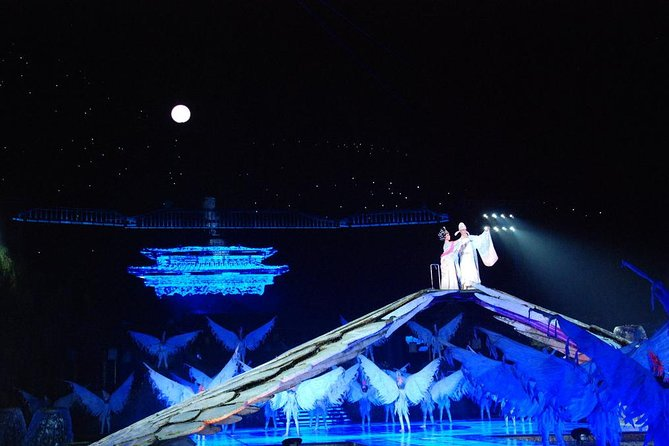 Xian Evening Tour: Qin Style Banquet and Everlasting Sorrow Performance