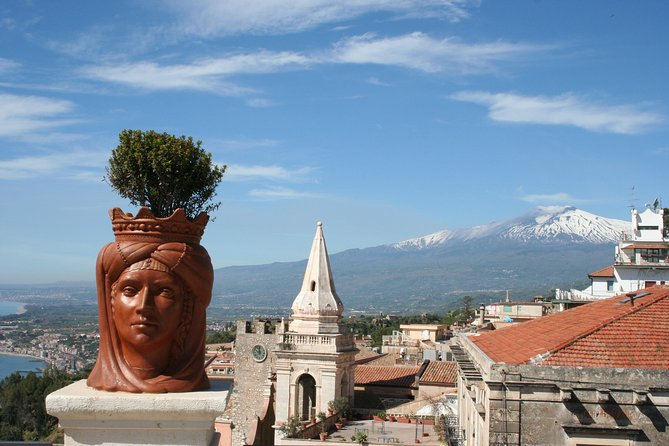 Mt Etna ( 2.000 meters) and Taormina Day Trip from Cefalu