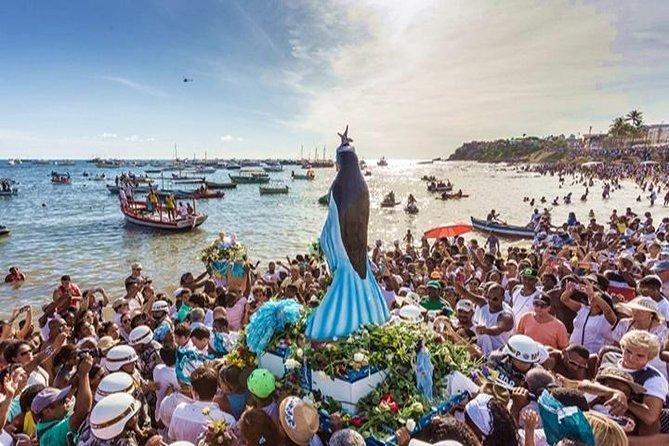 Excursão com cerimônia de Candomblé saindo de Salvador