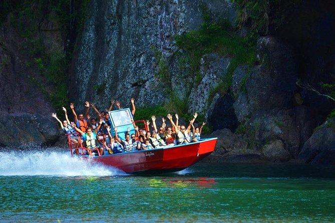 Suva Shore Excursion: Fiji Rivers Jet Boating Adventure con pranzo