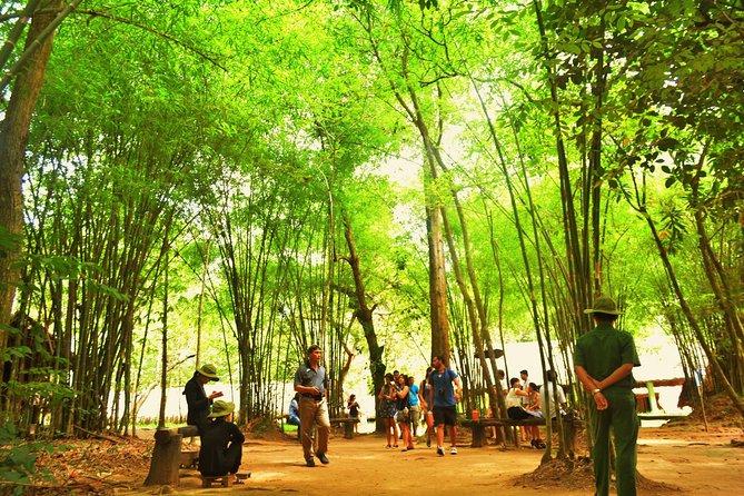 Cu Chi Tunnels & Saigon City Tour from Phu My Port